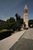 克罗地亚分开的雕象 库存图片