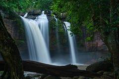 克罗地亚国家公园plitvice瀑布 免版税库存照片