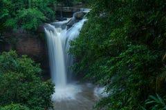 克罗地亚国家公园plitvice瀑布 免版税库存图片