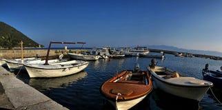 克罗地亚小游艇船坞04 免版税库存照片