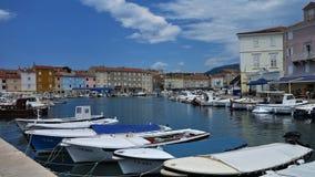 克罗地亚小游艇船坞05 免版税库存照片
