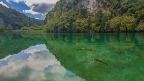 克罗地亚山海湾 库存图片