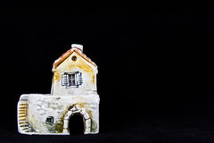 克罗地亚房子,全国建筑学 库存照片