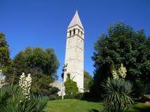 克罗地亚教会 免版税图库摄影