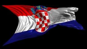 克罗地亚标志 影视素材