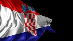 克罗地亚标志 股票录像