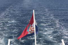 克罗地亚标志 免版税库存照片