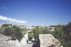 克罗地亚横向 免版税库存图片