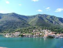 克罗地亚海岸 库存照片