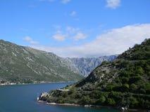 克罗地亚海岸 免版税库存照片