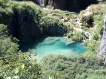 克罗地亚湖国家公园plitvice 图库摄影