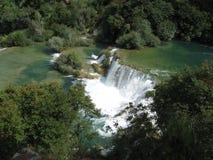 克罗地亚湖 免版税图库摄影