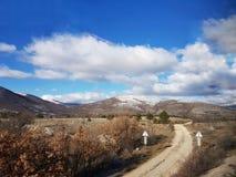 克罗地亚的乡下 库存图片