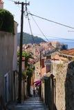 克罗地亚自然和风景 欧洲旅行 旅行癖 免版税库存照片