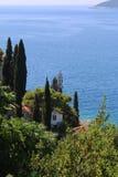 克罗地亚自然和风景 欧洲旅行 旅行癖 图库摄影