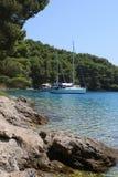 克罗地亚自然和风景 欧洲旅行 旅行癖 库存图片