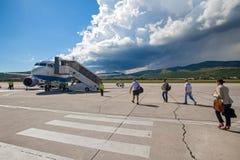 克罗地亚航空公司空中客车A319 免版税库存图片