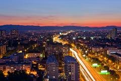 克罗地亚萨格勒布 免版税库存照片