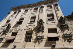 克罗地亚达尔马提亚著名遗产老站点分开的城镇科教文组织世界 免版税库存图片