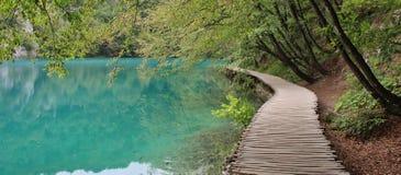 克罗地亚遗产湖列出国家公园plitvice科教文组织世界 免版税库存照片