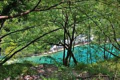 克罗地亚遗产湖列出国家公园plitvice科教文组织世界 免版税图库摄影