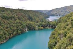 克罗地亚遗产湖列出国家公园plitvice科教文组织世界 图库摄影