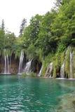 克罗地亚遗产湖列出国家公园plitvice科教文组织世界 库存图片