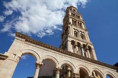 克罗地亚-分开的老城镇 免版税库存照片