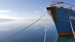 克罗地亚adria小船 免版税库存照片