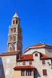 克罗地亚diocletian宫殿已分解 库存图片