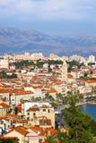 克罗地亚diocletian宫殿已分解 免版税库存照片