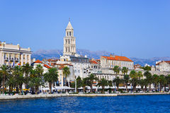 克罗地亚diocletian宫殿已分解 免版税库存图片