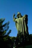 克罗地亚grgur nin雕塑已分解 免版税库存图片