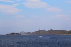 克罗地亚kornati国家公园 免版税图库摄影