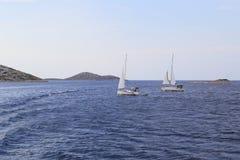 克罗地亚kornati国家公园 免版税库存图片