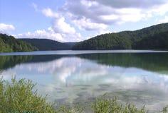 克罗地亚Plitvice湖国家公园 库存照片