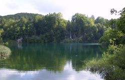 克罗地亚Plitvice湖国家公园 免版税库存照片