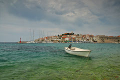 克罗地亚sibenik 免版税库存照片