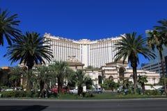 克罗赌场酒店las monte维加斯 库存图片