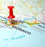 克罗财务摩纳哥monte天堂 免版税库存照片