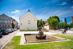 克莱佩达,立陶宛老镇  免版税库存图片