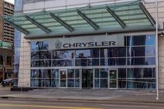 克莱斯勒加拿大总部 库存图片