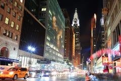 克莱斯勒大厦在纽约 库存照片