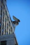 克莱斯勒大厦详细资料 免版税库存照片