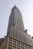 克莱斯勒大厦 免版税库存照片