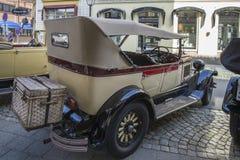 1928年克莱斯勒敞篷车(加拿大) 免版税图库摄影