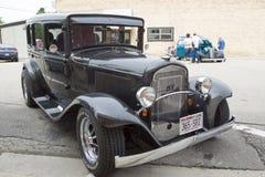 1931年克莱斯勒普利茅斯汽车 图库摄影