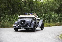 克莱斯勒75勒芒1929年 免版税库存照片
