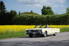 克莱斯勒300在路的经典之作汽车 库存图片