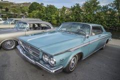 1964年克莱斯勒300小轿车 库存照片